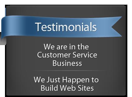Customer Testimonials for Affordable Web Design
