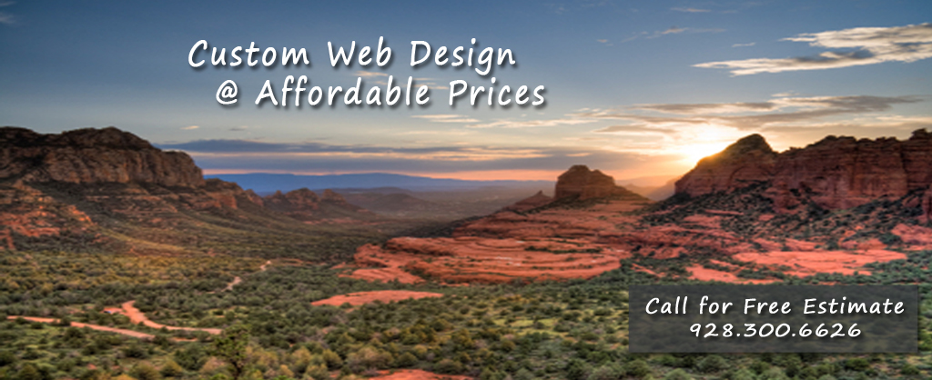 Custom Web Design in Cottonwood Arizona